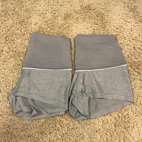 lululemon athletica Pants - Lululemon shorts sz 4 (lot of 2)